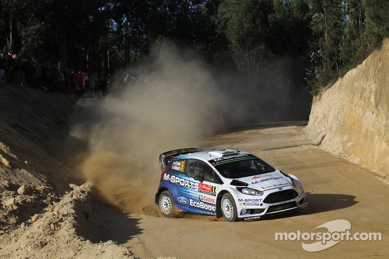 Elfyn Evans and Danielel Barrit, Ford Fiesta WRC M-Sport World Rally Team