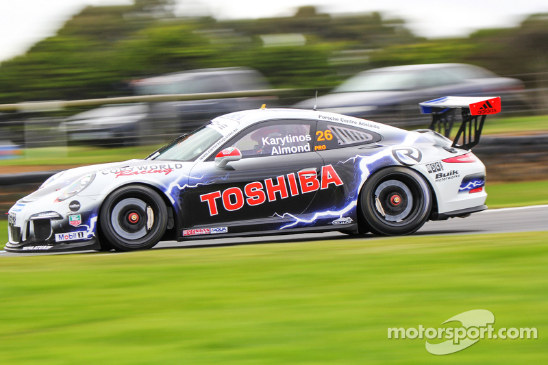 Michael Almond, John Karytinos, Porsche 911 GT3 Cup