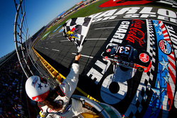 Austin Dillon, Richard Childress Racing Chevrolet takes the win