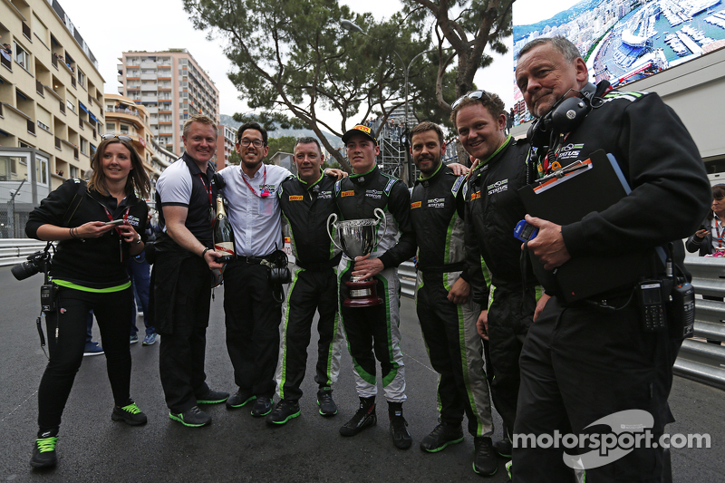 Richie Stanaway, Status Grand Prix, mit seinem Team