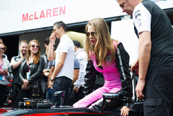 Cara Delevingne, Model with the McLaren team