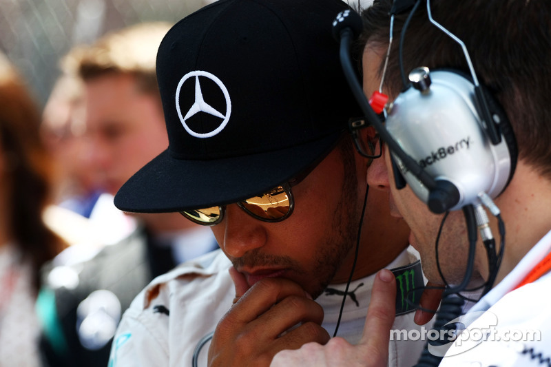 Lewis Hamilton, Mercedes AMG F1, in der Startaufstellung