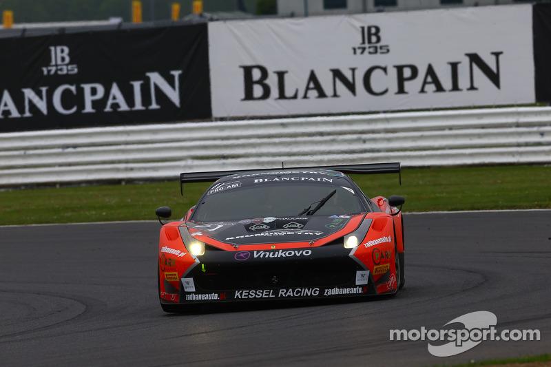 #11 Kessel Racing, Ferrari 458 Italia: Michael Broniszewski, Alessandro Bonacini, Michael Lyons