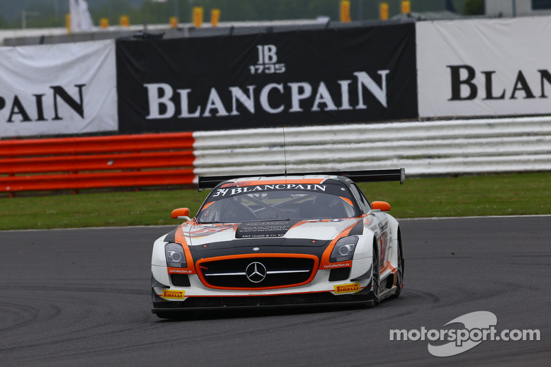 #34 Car Collection Motorsport, Mercedes SLS AMG GT3: Alexander Mattschull, Pierre Ehret