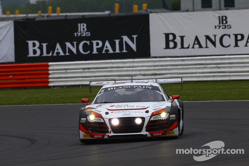 #6 Phoenix Racing Audi R8 LMS: Shaun Thong, Marchy Lee, Markus Winkelhock
