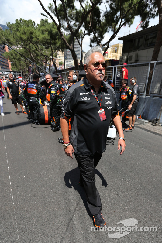 Vijay Mallya, pemilik tim, Sahara Force India