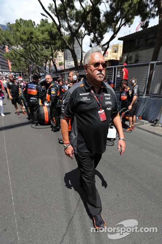 Vijay Mallya, proprietario della Sahara Force India