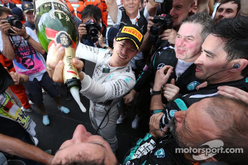 1. Nico Rosberg, Mercedes AMG F1 Team