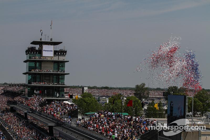 Balon tradisional diterbangkan di Indianapolis