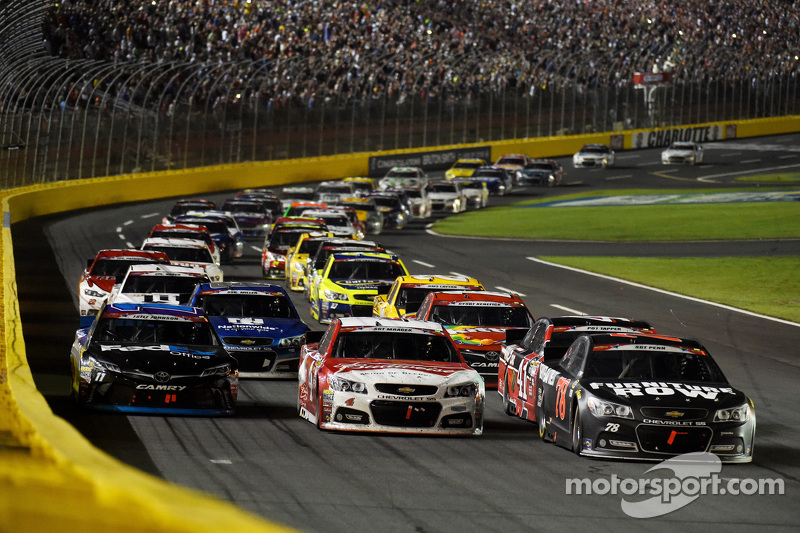 Martin Truex jr., Furniture Row Racing, Chevrolet, vor dem Restart