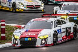 #4 Phoenix Racing Audi R8 LMS: Marc Basseng, Марсель Фаслер, Майк Роккенфеллер, Frank Stippler