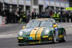 #56 9und11 Racing Porsche 997 GT3 Kupası: Georg Goder, Martin Schlüter, Dirk Lessmeister