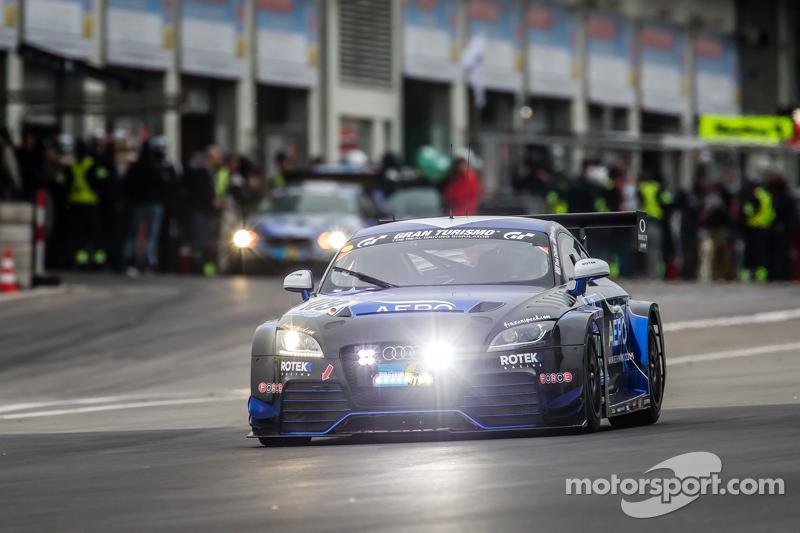 #109 Rotek Racing, Audi TT RS: Robb Holland, Tony Richards, David Thilenius