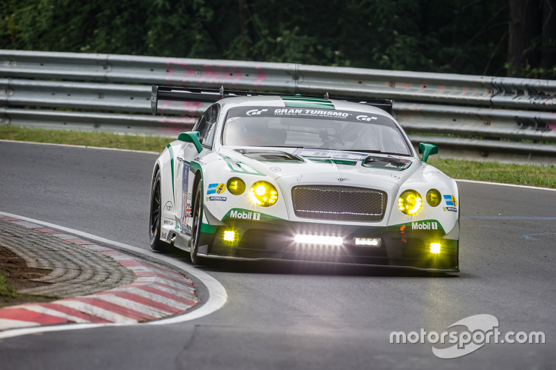 #84 Bentley Team, Bentley Continental GT3: Jeroen Bleekemolen, Lance David Arnold, Christian Menzel, Christopher Brück
