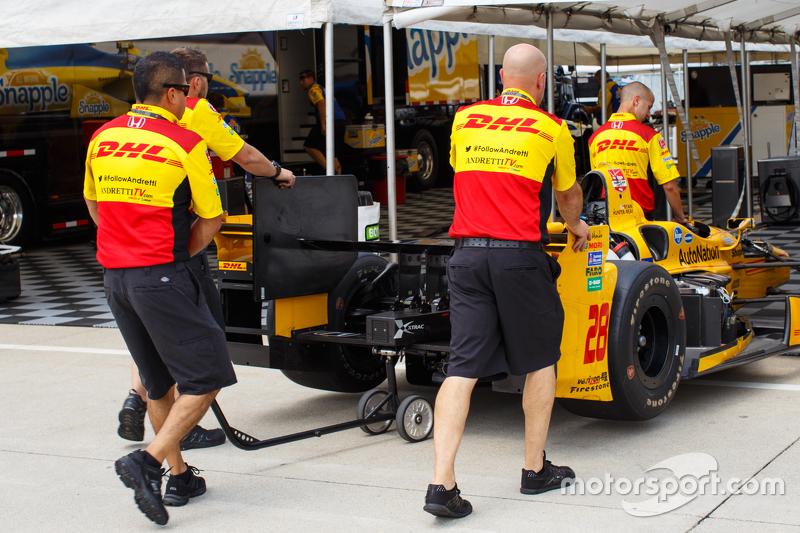 Teambereich Andretti Autosport