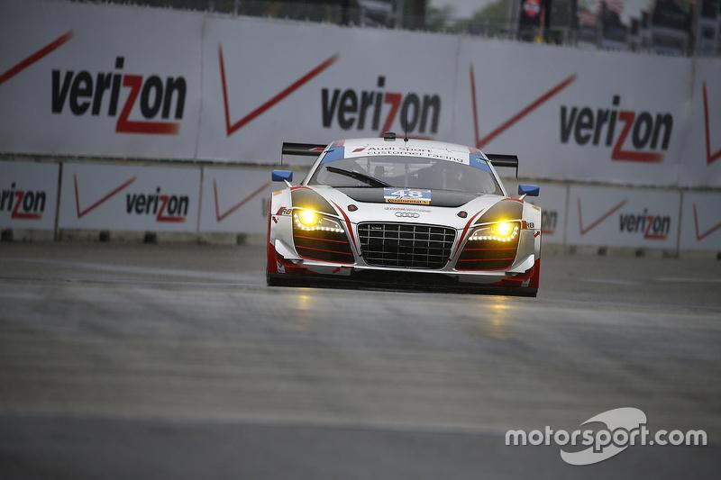 #48 Paul Miller Racing Audi R8 LMS: Крістофер Гаазе, Dion von Moltke