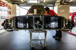 #21 Nissan Motorsports detail aerodinamika Nissan GT-R LM NISMO