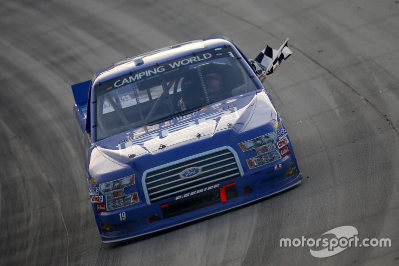 Race winner Tyler Reddick, Brad Keselowski Racing Ford