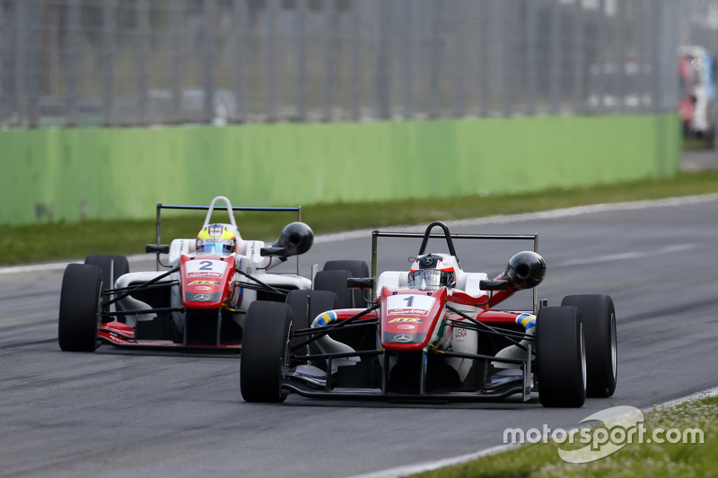 Felix Rosenqvist and Jake Dennis, Prema Powerteam Dallara Mercedes-Benz