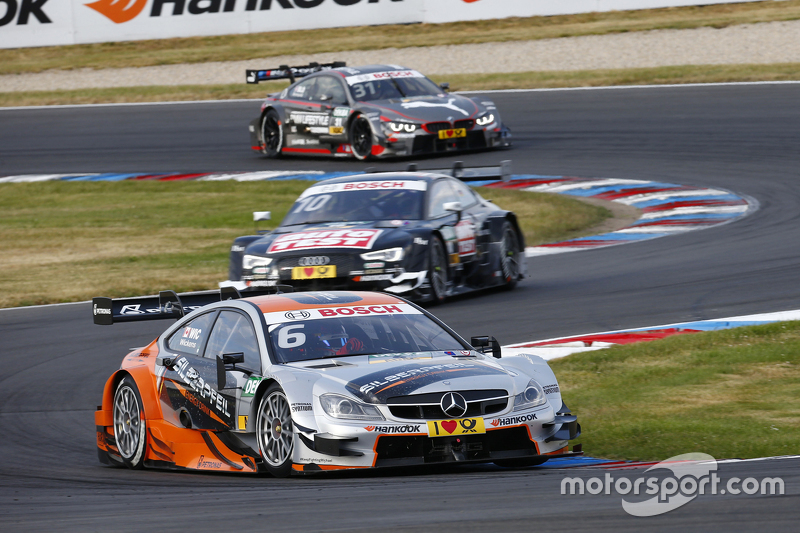 Robert Wickens, Mercedes-AMG C 63 DTM and Timo Scheider, Audi RS5 DTM