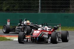Felix Rosenqvist, Prema Powerteam Dallara Mercedes-Benz et Charles Leclerc, Van Amersfoort Racing Dallara Volkswagen