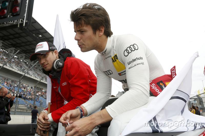 Edoardo Mortara, Audi Sport Team Abt Audi RS 5 DTM and Adrien Tambay, Audi Sport Team Abt Sportsline Audi RS 5 DTM