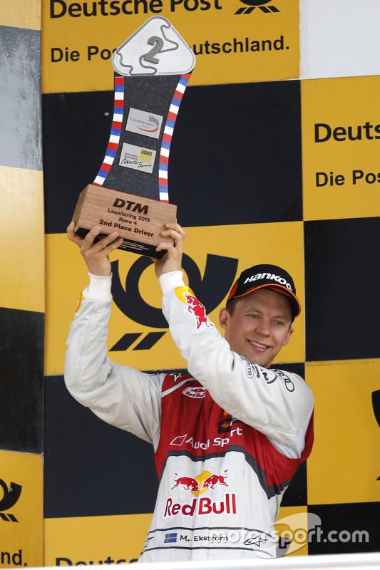 Podium: 2nd Mattias Ekström, Audi Sport Team Abt Sportsline, Audi A5 DTM