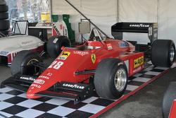 Ein historischer Grand-Prix-Rennwagen