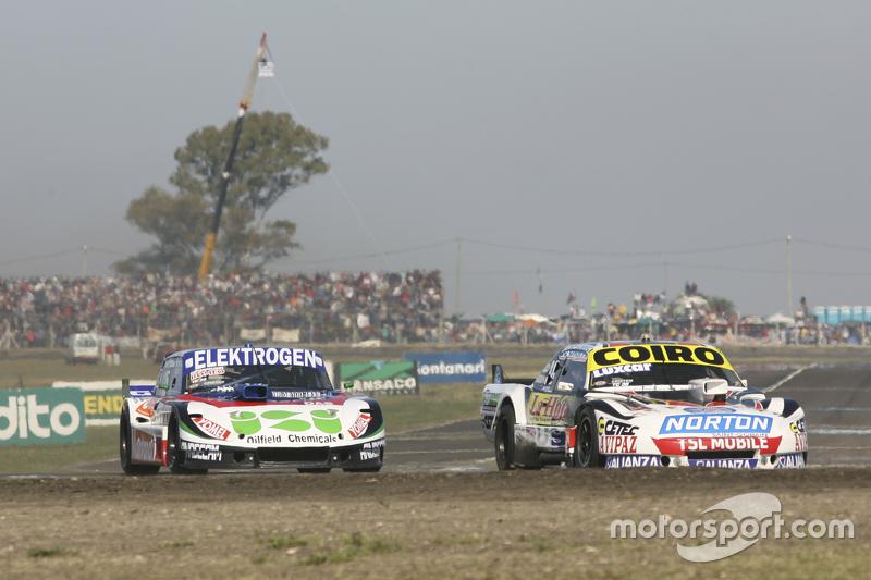 Martin Serrano, Coiro Dole Racing Dodge, dan Mathias Nolesi, Nolesi Competicion Ford