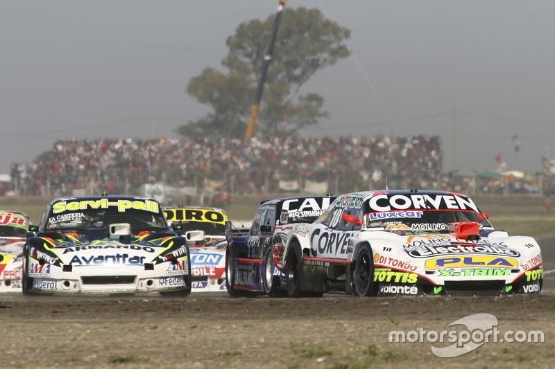 Juan Marcos Angelini, UR Racing, Dodge; Emanuel Moriatis, Alifraco Sport, Ford, und Diego de Carlo, JC Competicion, Chevrolet