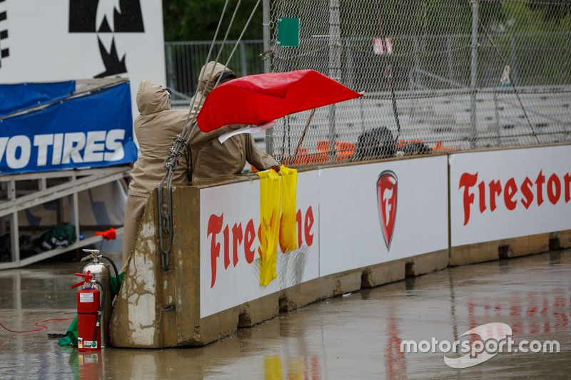 Red Flag for rain