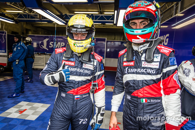 #72 SMP Racing Ferrari 458 GTE: Віктор Шайтар та Андреа Бертоліні