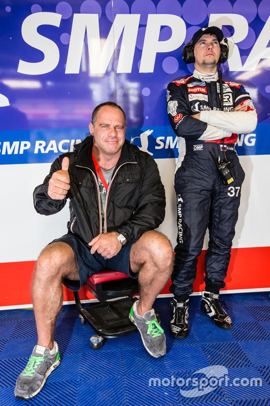 #37 SMP Racing, BR01: Sergey Zlobin und Kirill Ladygin