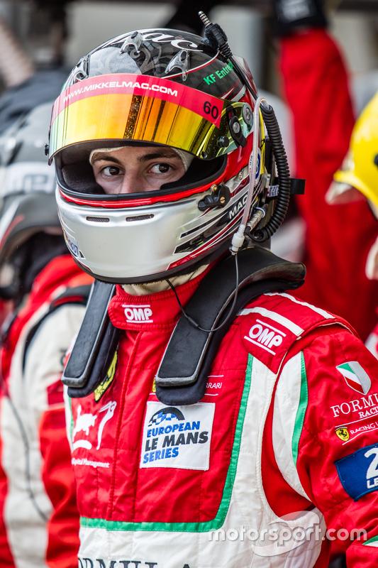 #60 Formula Racing, Ferrari 458 GTE: Mikkel Mac