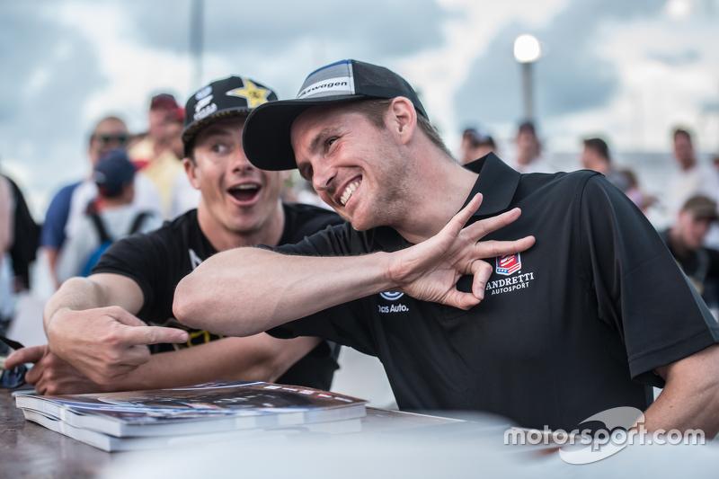 Scott Speed and Tanner Foust