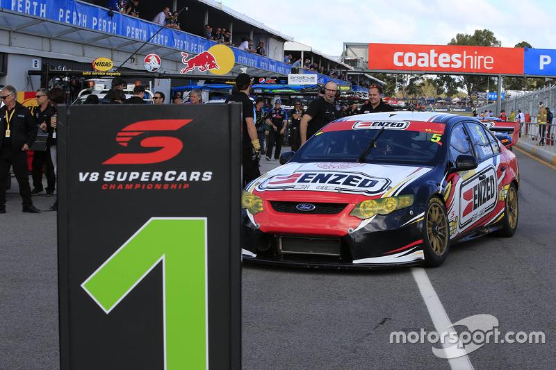Race winner Cameron Waters, Prodrive Racing Australia