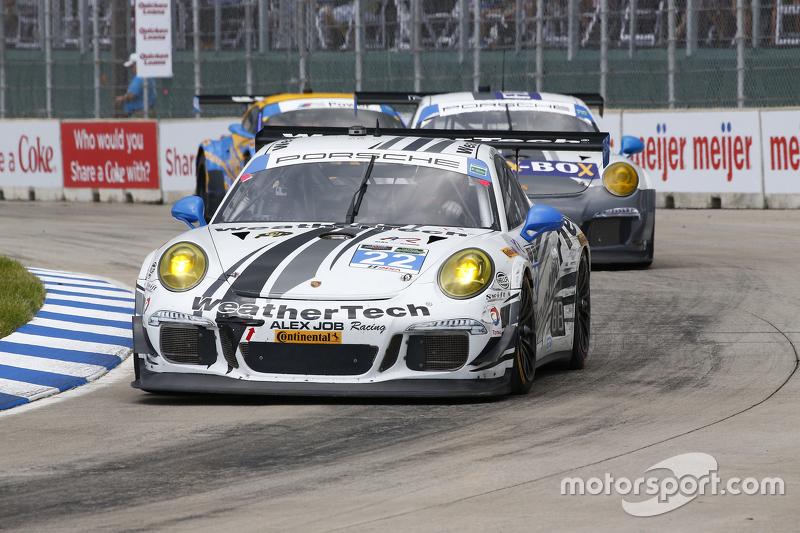 #22 Alex Job Racing, Porsche 911 GT America: Cooper MacNeil, Leh Keen