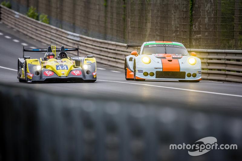 #44 Ibanez Racing ORECA 03R: Yutaka Yamagishi, Pierre Perret, José Ibanez, Stéphane Raffin, #86 Gulf