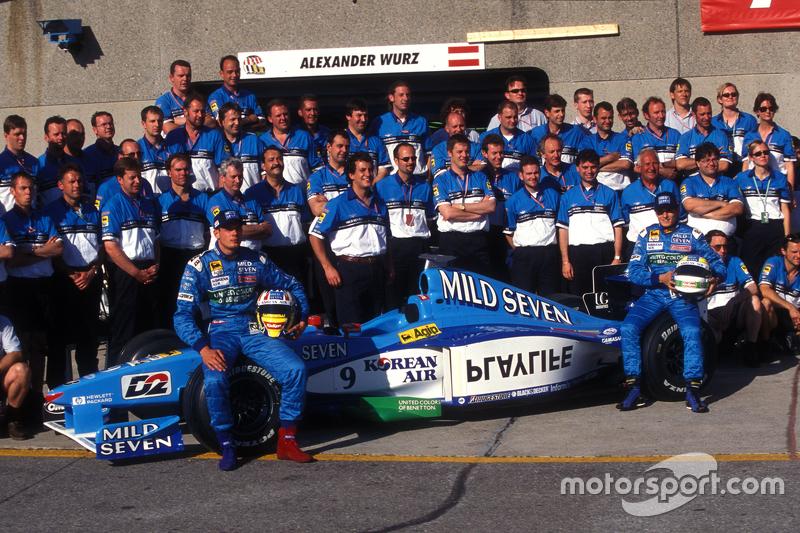Benetton, sous le nom de Playlife : 1998-2000