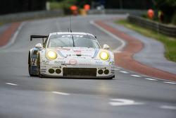 #68 Team AAI Porsche 911 GT3-RSR: Jun-San Chen, Gilles Vannelet, Mike Parisy