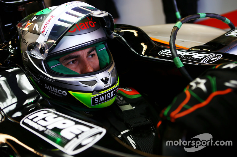 Серхио Перес, Sahara Force India F1 VJM08