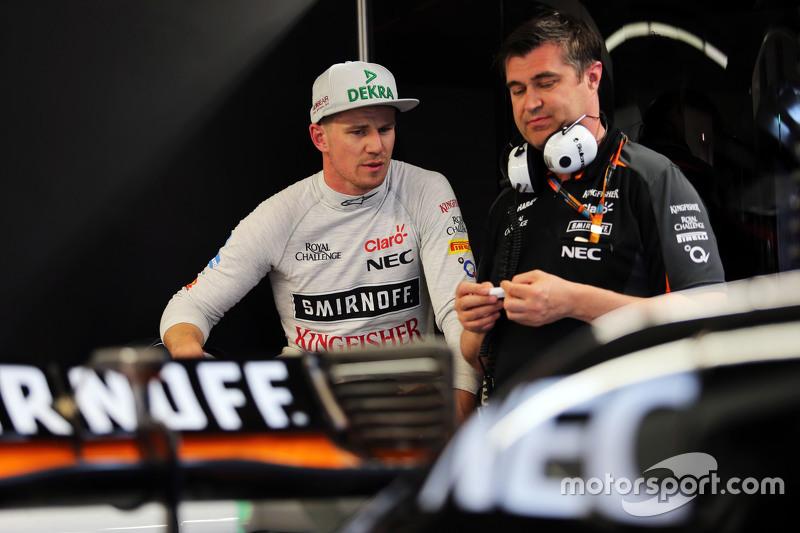 Ніко Хюлкенберг, Sahara Force India F1 з Бредлі Джойс, Sahara Force India F1 гоночний інженер