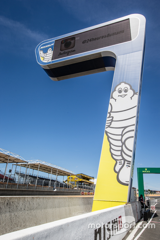 Michelin-Anzeigetafel