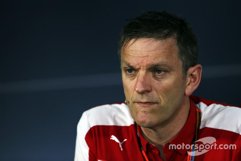 James Allison, Ferrari Chassis Technical Director in the FIA Press Conference