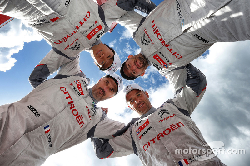 Jose Maria Lopez, Sébastien Loeb, Yvan Muller, Qing-Hua Ma, Citroën C-Elysée WTCC, Citroën World Touring Car Team