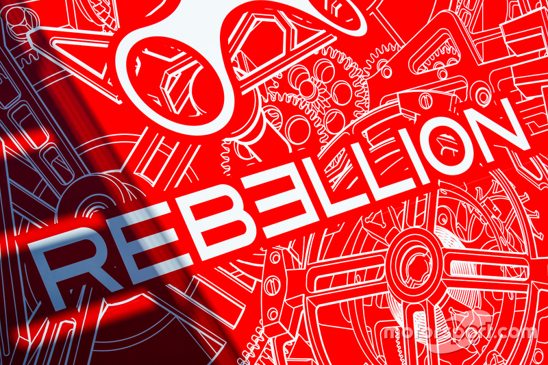 Logo / signage Rebellion Racing
