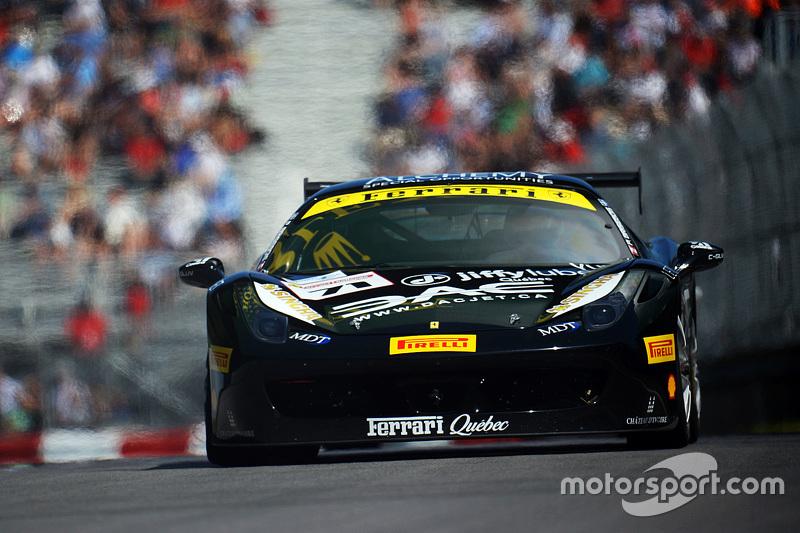 #71 Ferrari of Québec, Ferrari 458: Patrice Brisebois