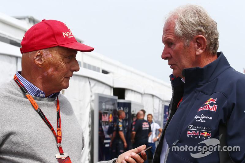 Нікі Лауда, Невиконавчий голова Mercedes з Д-р Хелмут Марко, Red Bull Motorsport Consultant