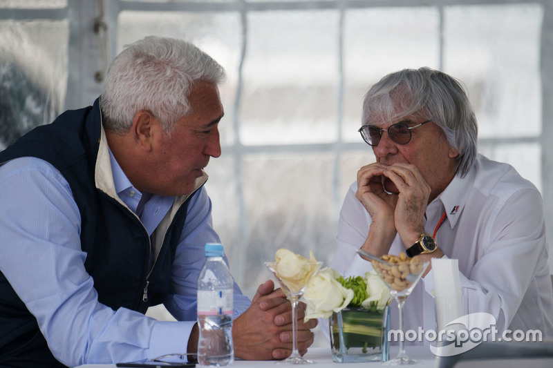 Lawrence Stroll, Businessman with Bernie Ecclestone
