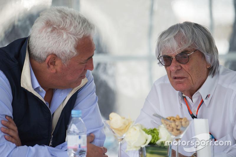 Lawrence Stroll, Businessman with Bernie Ecclestone